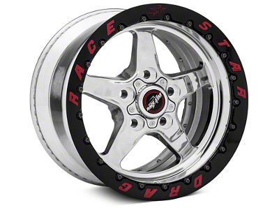 Race Star Drag Star 92 Double Bead Lock Drag Wheel - 15x10 - Rear Only (87-93 w/ 5 Lug Conversion)
