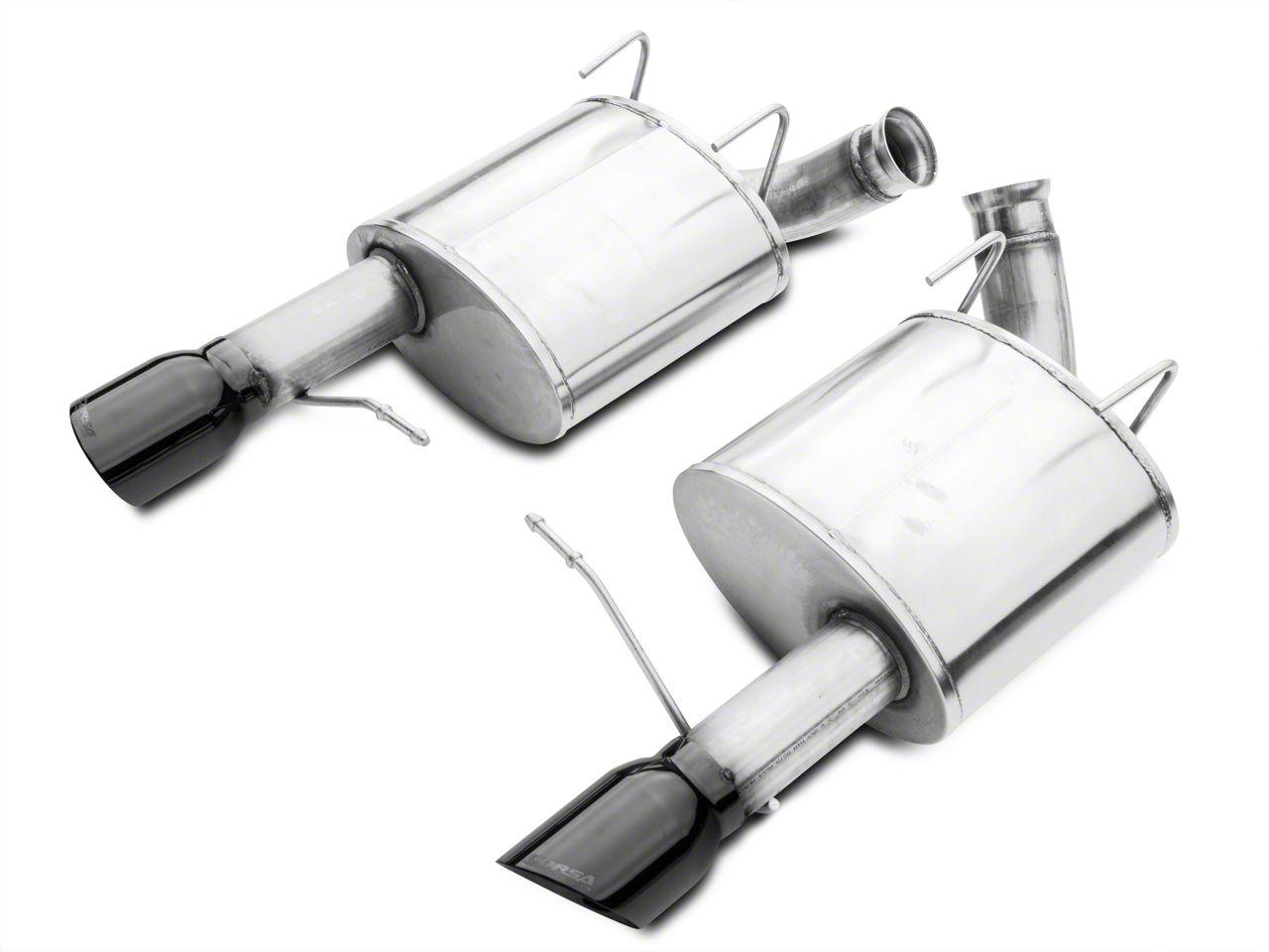 Corsa Sport Axle-Back Exhaust w/ Black Tips (11-14 GT; 12-13 BOSS 302)