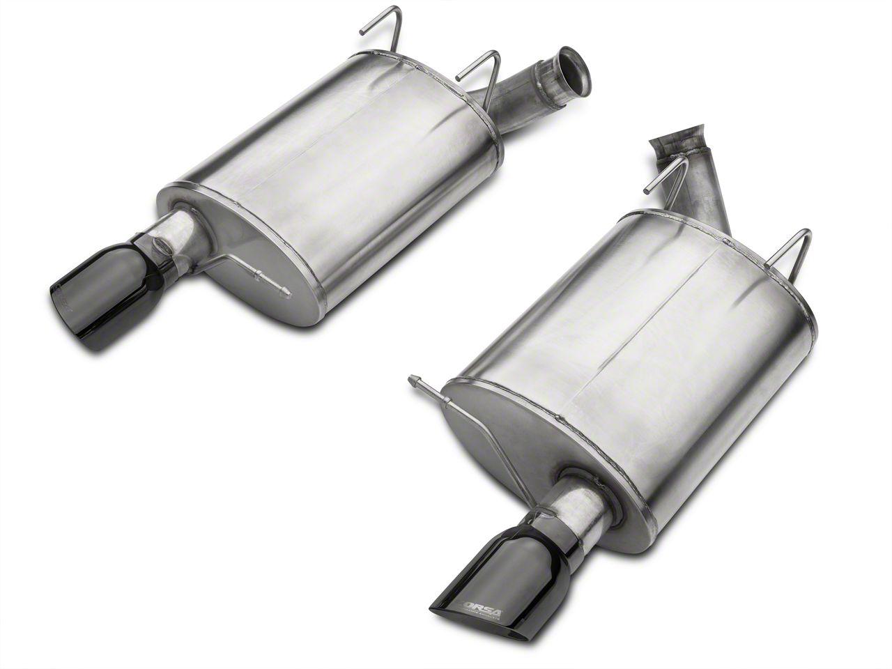 Corsa Sport Axle-Back Exhaust w/ Black Tips (11-12 GT500)