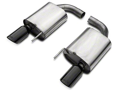 Borla ATAK 2.5 in. Axle-Back Exhaust w/ Black Tips (15-17 GT)