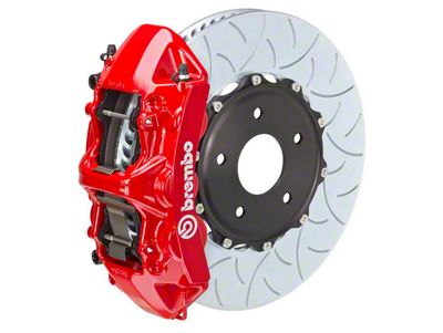 Brembo GT Series 6-Piston Front Brake Kit - 15 in. Type 3 Slotted Rotors - Red (15-19 All)