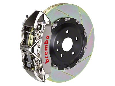 Brembo GT-R Series 6-Piston Front Brake Kit - 15 in. Type 1 Slotted Rotors (15-19 All)