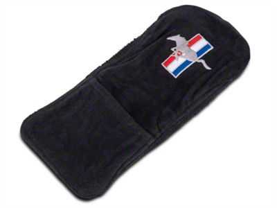 Center Console Cover - Tri-Bar Running Pony (10-14 All)