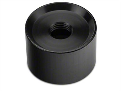 Modern Billet Jam Nut Collar Adapter - Black (15-19 GT, EcoBoost, V6)