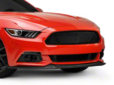 T-REX Upper Class Series 3-Window Mesh Grille - Black (15-17 GT, EcoBoost, V6)