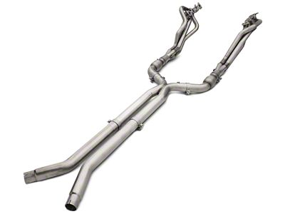 American Racing Headers 1-3/4 in. Long Tube Catted Headers w/ X-Pipe - Long System (15-19 GT)