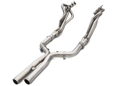 American Racing Headers 1-3/4 in. Long Tube Off-Road Headers w/ X-Pipe - Bottle-Neck Eliminator (15-19 GT)
