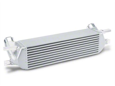 Mishimoto Silver Intercooler Kit w/ Wrinkle Black Piping (15-19 EcoBoost)