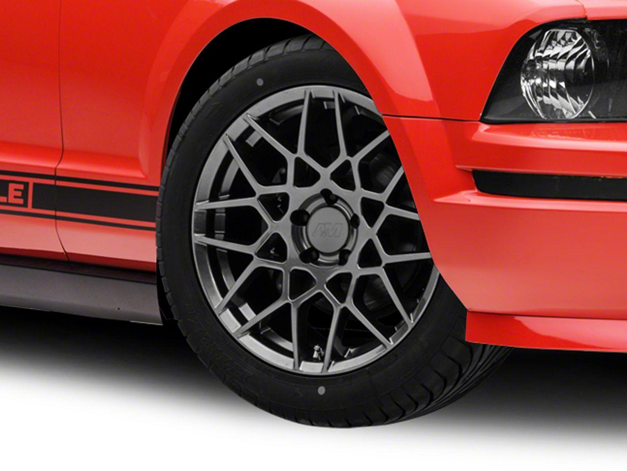 2013 GT500 Style Hyper Dark Wheel - 18x9 (05-14 GT, V6)