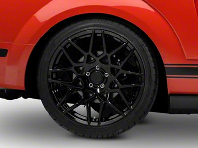 2013 GT500 Style Gloss Black Wheel - 20x10 - Rear Only (05-14 All)