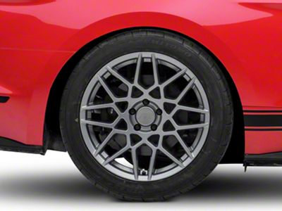 2013 GT500 Style Charcoal Wheel - 19x10 - Rear Only (15-19 GT, EcoBoost, V6)