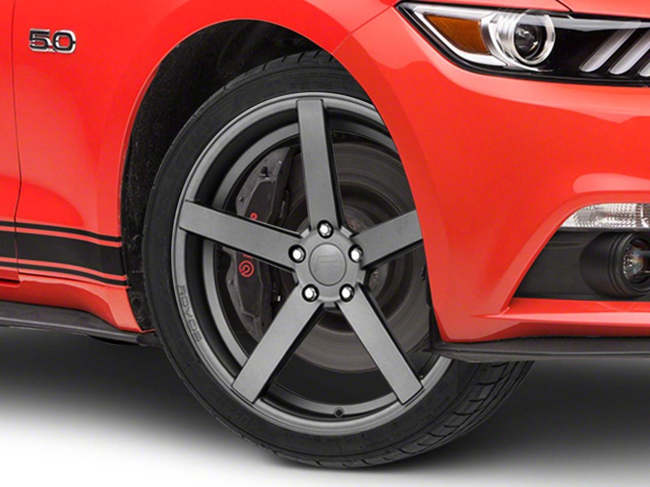 Rovos Durban Satin Gunmetal Wheel - 20x8.5 (15-19 GT, EcoBoost, V6)