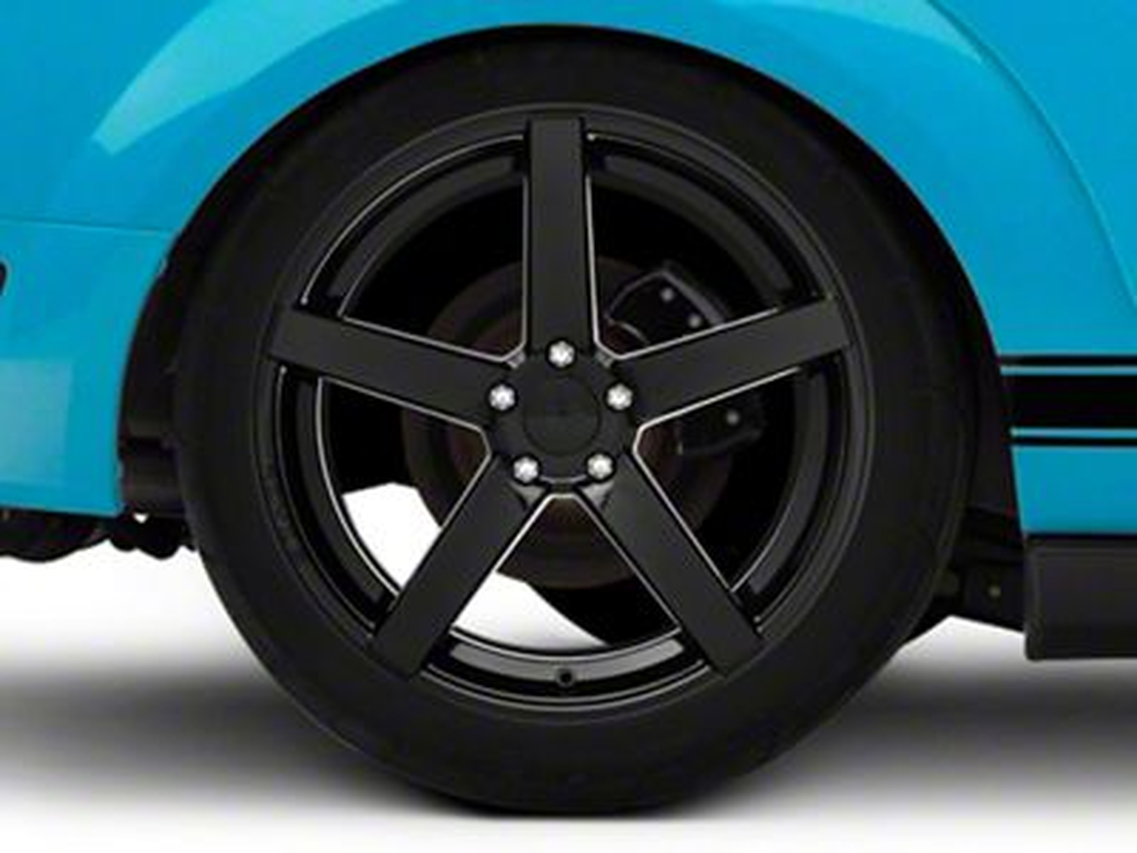 Rovos Durban Gloss Black Wheel - 20x10 - Rear Only (05-14 All)