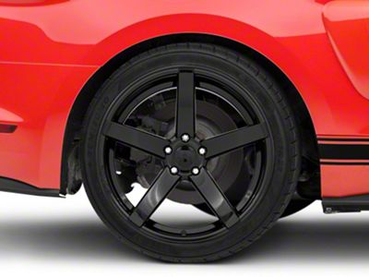 Rovos Durban Gloss Black Wheel - 20x10 (15-19 GT, EcoBoost, V6)