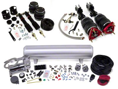 Air Lift Performance Complete Suspension Kit - Manual (15-19 All)
