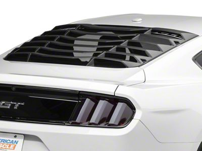 MMD ABS Rear Window Louvers (15-19 Fastback)