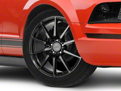 GT350 Style Black Wheel - 19x8.5 (05-14 All)