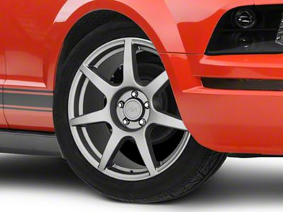 GT350R Style Charcoal Wheel - 19x8.5 (05-14 All)