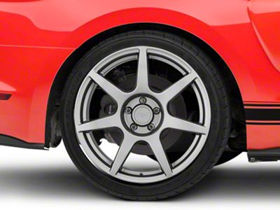 GT350R Style Charcoal Wheel - 19x10 - Rear Only (15-19 GT, EcoBoost, V6)