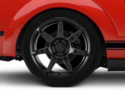 GT350R Style Black Wheel - 19x10 - Rear Only (05-14 All)