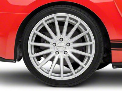 Vossen VFS/2 Silver Polished Wheel - 19x10 - Rear Only (15-19 Standard GT, EcoBoost, V6)