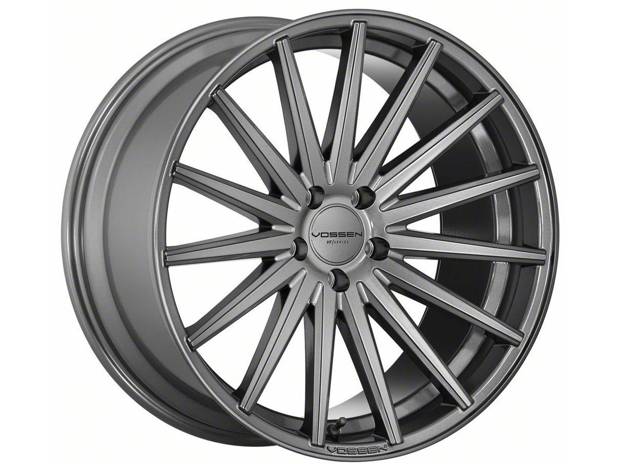 Vossen VFS/2 Gloss Graphite Wheel - 19x8.5 (15-19 Standard GT, EcoBoost, V6)