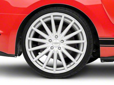 Vossen VFS/2 Silver Polished Wheel - 20x10.5 - Rear Only (15-19 GT, EcoBoost, V6)