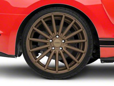 Vossen VFS/2 Satin Bronze Wheel - 20x10.5 - Rear Only (15-19 GT, EcoBoost, V6)