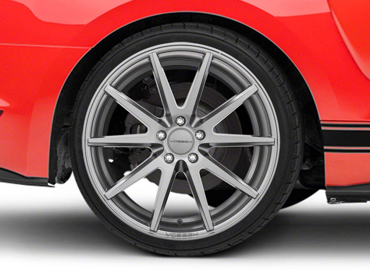 Vossen VFS/1 Matte Graphite Wheel - 19x10 (15-19 Standard GT, EcoBoost, V6)