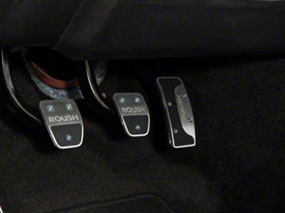 Roush 4-Piece Performance Pedal Kit (15-19 w/ Manual Transmission)