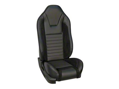 TMI Sport R Style Full Seat Upholstery & Front Bucket Foam for Airbag Equipped Seats (05-10 GT Coupe, V6 Coupe)