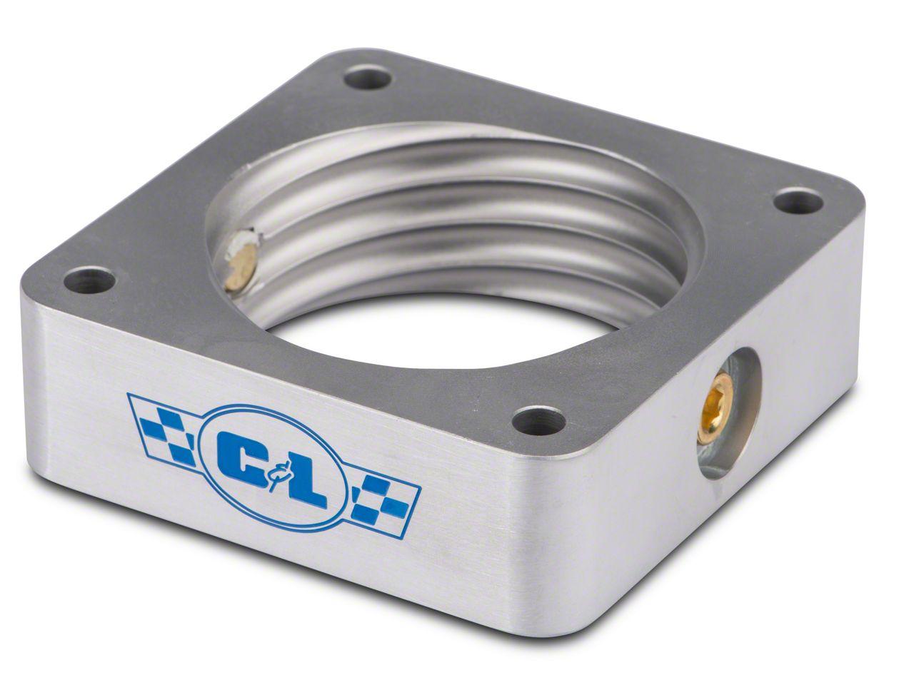 C&L Throttle Body Spacer w/ Nitrous Ports (15-19 EcoBoost)
