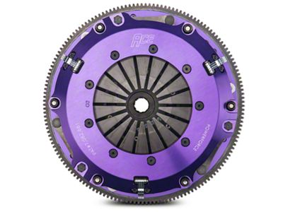 ACE Racing PowerForce Twin Disc Clutch w/ 6-Bolt Flywheel (96-98 GT; Late 01-04 GT)