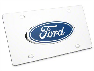 Ford License Plate - Ford Oval (79-19 All)