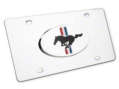 Ford License Plate - Tri-Bar & Running Pony (79-19 All)