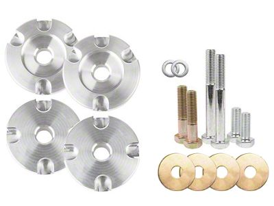 Steeda Race IRS Differential Bushing Insert System - Aluminum (15-19 GT, EcoBoost)