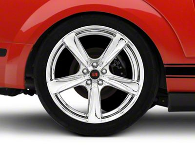 Saleen Secca Flo-Form Chrome Wheel - 20x10 - Rear Only (05-14 All)