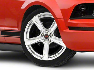 Saleen Secca Flo-Form Chrome Wheel - 20x9 (05-14 All)