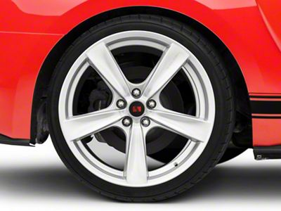 Saleen Secca Flo-Form Silver Wheel - 20x10 - Rear Only (15-19 GT, EcoBoost, V6)