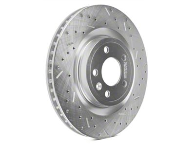 Xtreme Stop Precision Cross-Drilled & Slotted Rotors - Front Pair (11-14 Standard GT)