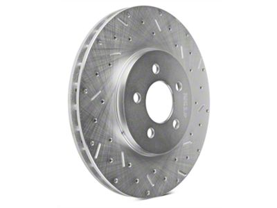 Xtreme Stop Precision Cross-Drilled & Slotted Rotors - Front Pair (94-04 Cobra, Bullitt, Mach 1)