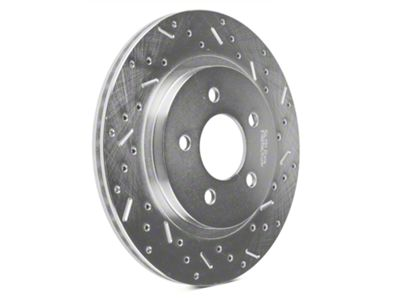 Xtreme Stop Precision Cross-Drilled & Slotted Rotors - Rear Pair (05-14 All, Excluding 13-14 GT500)