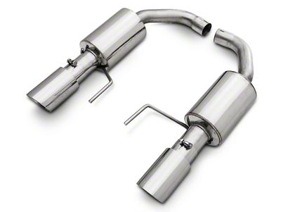 Pypes Street Pro Touring Axle-Back Exhaust (15-19 EcoBoost w/o Active Exhaust)