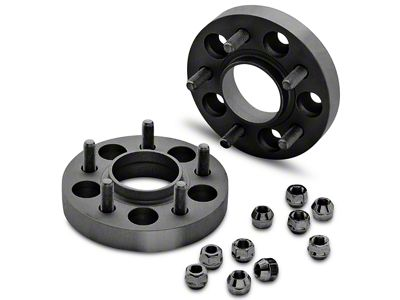 Eibach Pro-Spacer Hubcentric Black Wheel Spacers - 25mm - Pair (15-19 All)