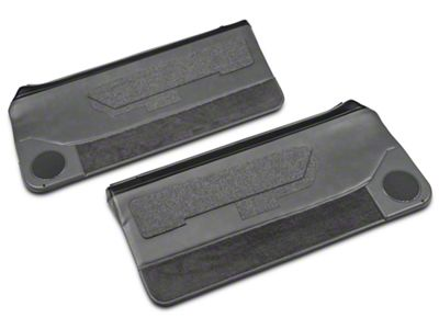 OPR Convertible Door Panels for Power Windows - Smoke Gray (87-93 Convertible)