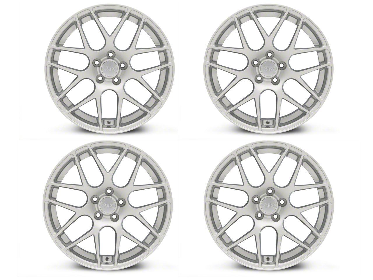 AMR Silver 4 Wheel Kit - 19x8.5 (15-19 GT, EcoBoost, V6)