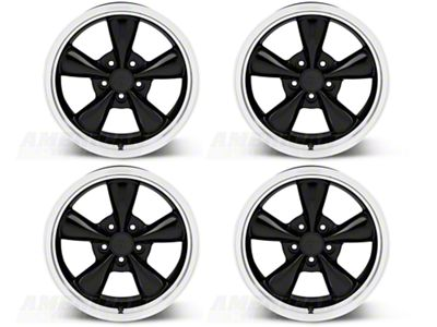 Bullitt Black 4 Wheel Kit - 17x9 (94-04 All)