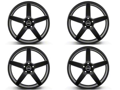 MMD 551C Matte Black 4 Wheel Kit - 20x8.5 (15-19 GT, EcoBoost, V6)