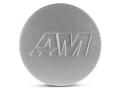 Silver AmericanMuscle Center Cap (94-19 All)