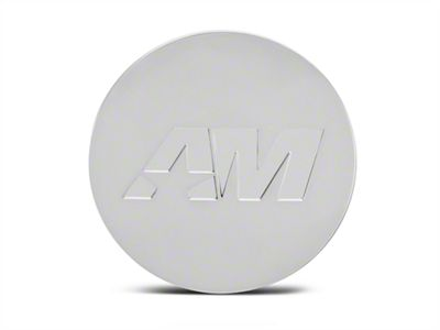 Chrome AmericanMuscle Center Cap (94-19 All)